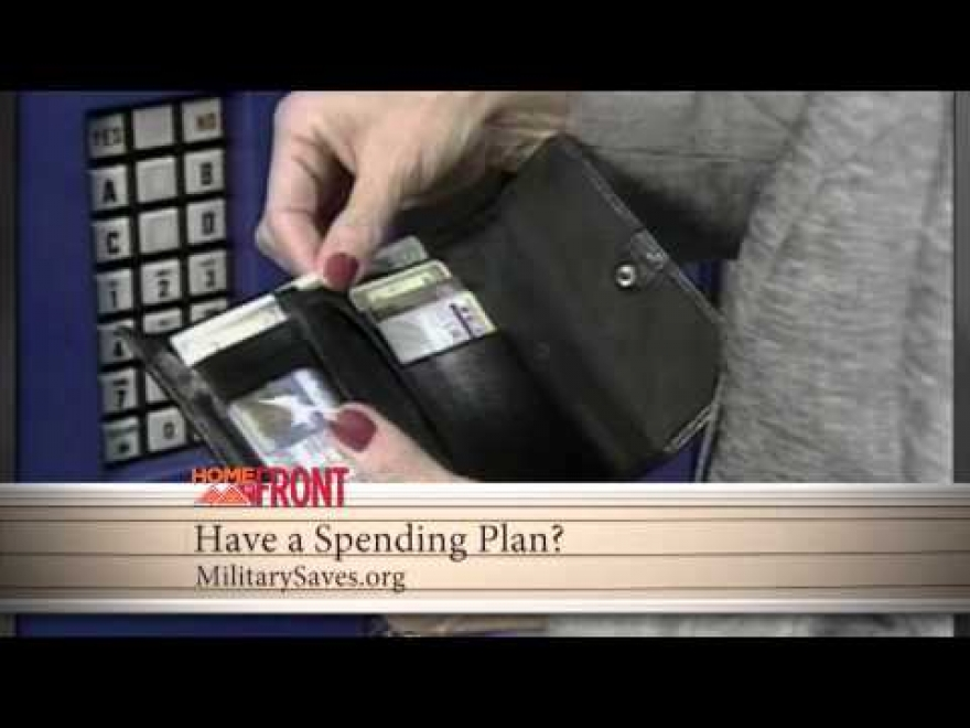 Homefront: Have a Spending Plan