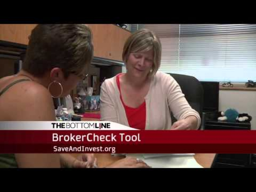 The Bottom Line: BrokerCheck Tool